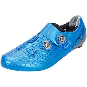 Shimano S-Phyre SH-RC9 Rennrad Schuhe Unisex Wide blau